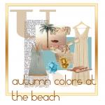 Herfstkleuren op het strand