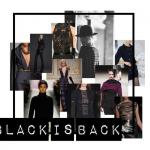 Trend najaar: Zwart terug in modebeeld