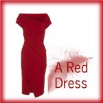 Het maken van een rode jurk