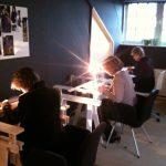 Impressie workshop Broderie d'Art