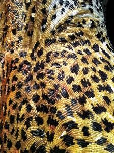 Detail panterjurk, Jean Paul Gaultier