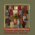 OUTERWEAR IN AUTUMN COLOUR STYLE