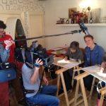 Televisie Opnames Opleiding Broderie d'Art in Doesburg