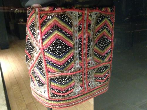 Ba-sh: geborduurde rok, detail