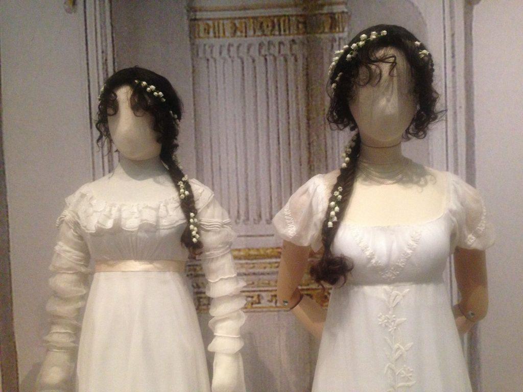 Jonge mode uit het begin 19e eeuw