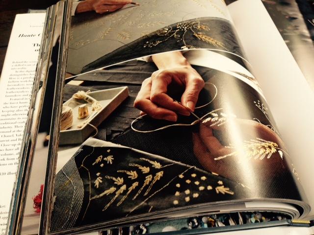 Hand borduurwerk voor haute couture