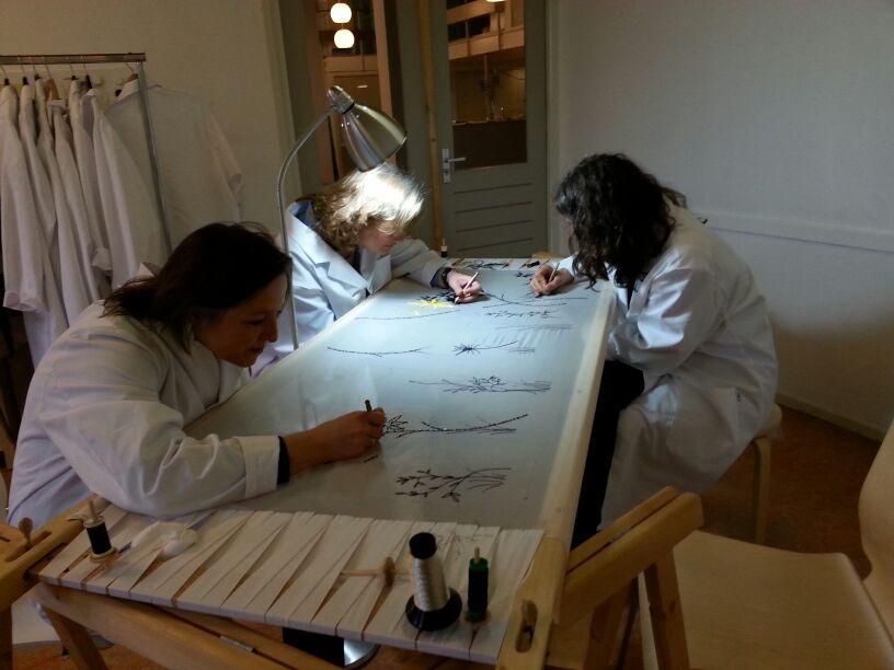 Atelier borduurframe