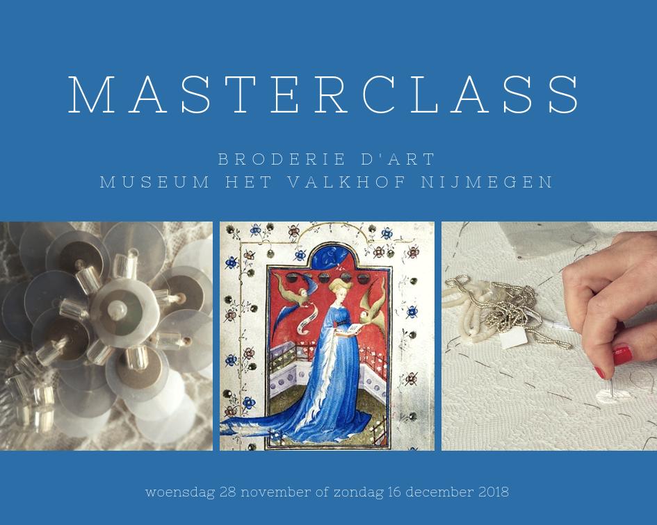 Masterclass Broderie d'Art Museum Het Valkhof